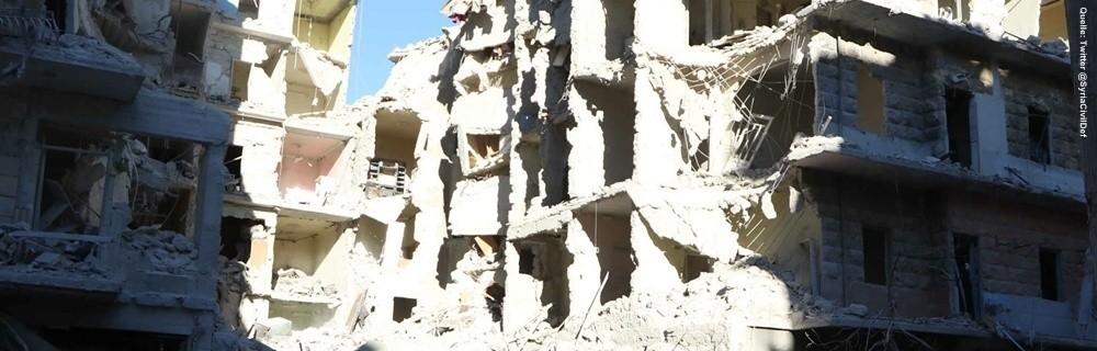 © Twitter: @SyriaCivilDef (The White Helmets)