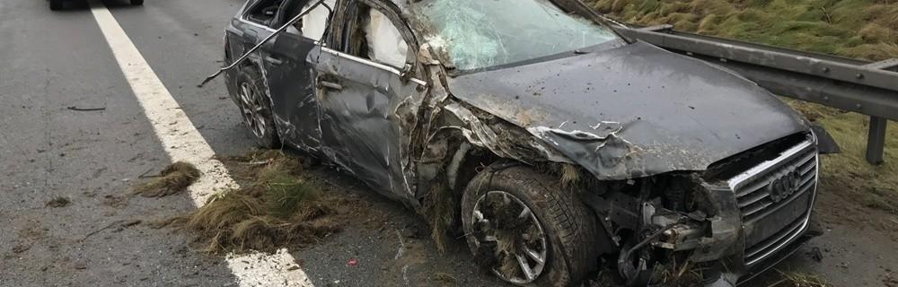 Unfall Auf Der A9 Bei Münchberg Vierköpfige Familie Verunglückt