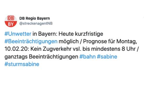 © Twitter / @streckenagentNB