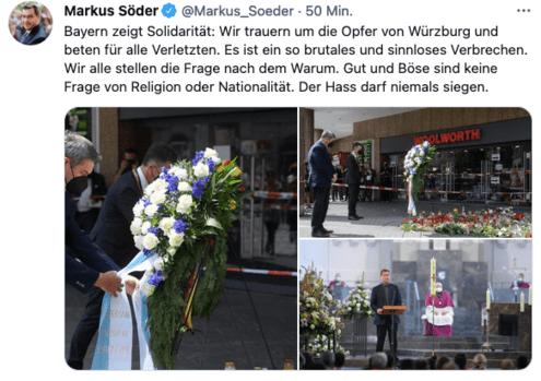 © Twitter / @Markus_Soeder