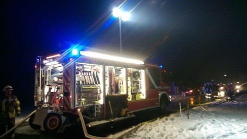 © Florian Gräbner / Freiwillige Feuerwehr Ebersdorf bei Coburg